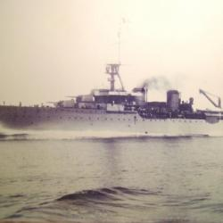 Le croiseur Primauguet de L' Amiral Goybet (prise d'Aruba et transport or de banque de France en 1940 ).