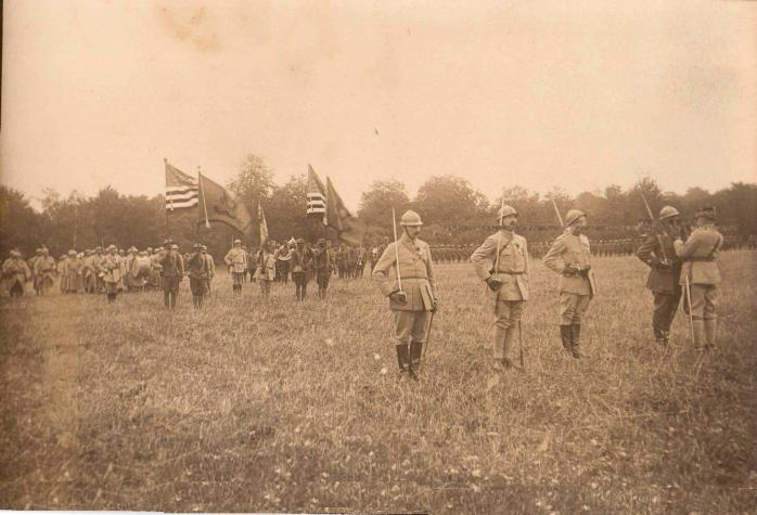 157th Division ceremony