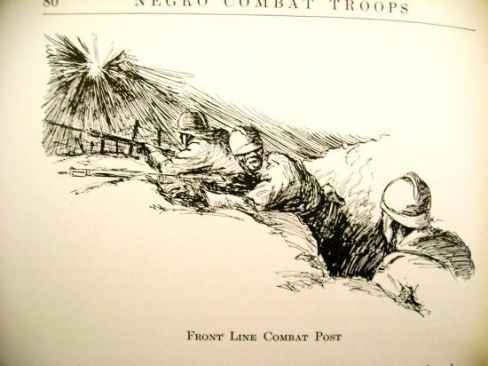 Les troupes noires américaines commandées par le Général Mariano Goybet (1917-1918).
