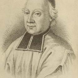 Le supérieur de st Sulpice , seigneur de Montréal Etienne Montgolfier (1712-1791)