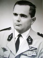 Chef de bataillon d'Infanterie de Marine Adrien Goybet