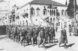 Armée française à Damas