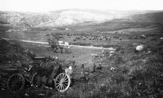Artillerie lourde au camp d Ain Jdeideh