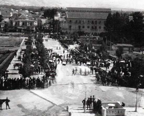 Avenue du général Goybet à Damas