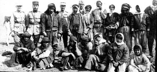 Chefs bédouins du Hauran réunis a Deraa 1