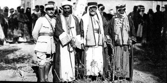 Chefs bédouins du Hauran réunis a Deraa