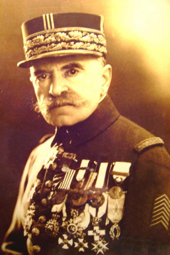 Général Mariano Goybet  Grand officier de la légion d'honneur