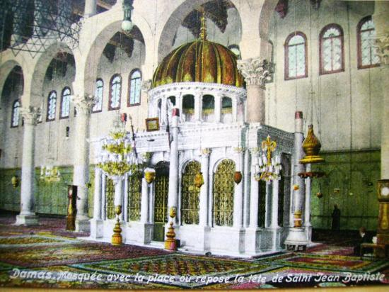 Damas  Grande Mosquée  des Omeyyades (705-715)