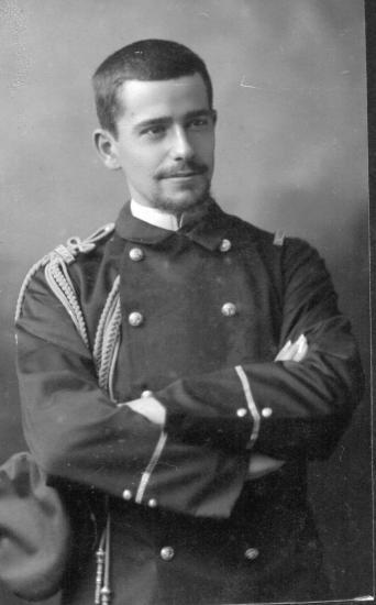 Frederic goybet 1891 1914 mort pour la france devant gunsbach
