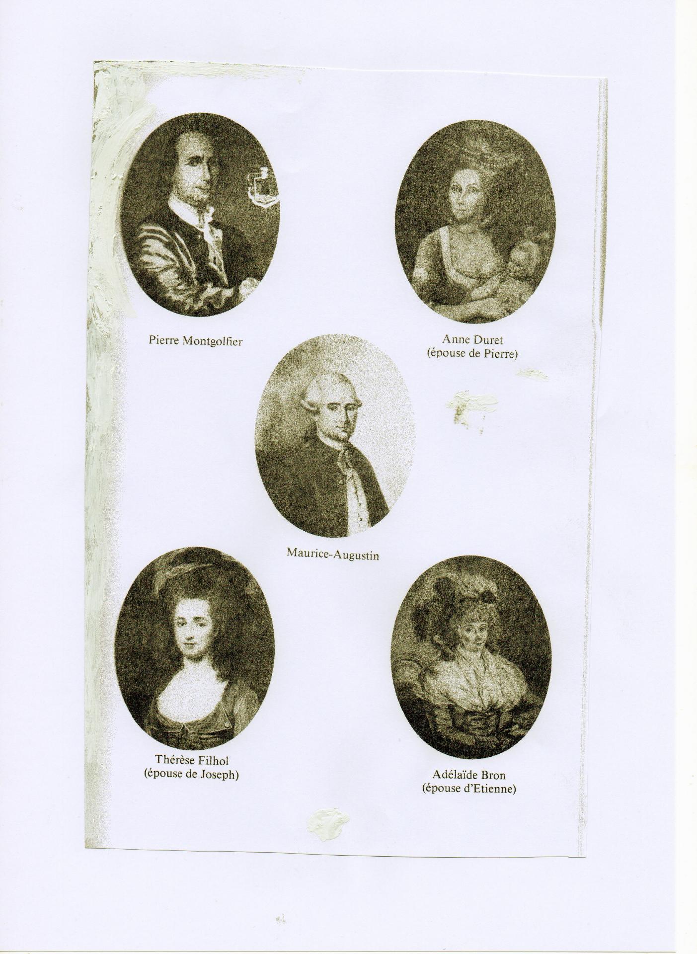 Maurice Augustin , frère des inventeurs dont descendent les Goybet