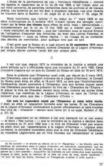 A.H.H. Bulletin N°29 1987 Ordonnance 8/10/1814