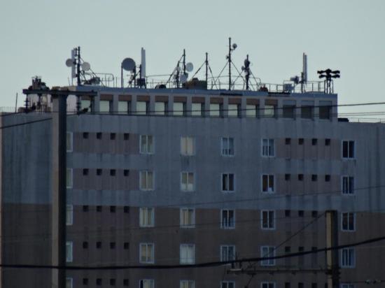Immeuble 31 31 bis batiment D Résidence Sixte Isnard  et sa foret d antennes-relais