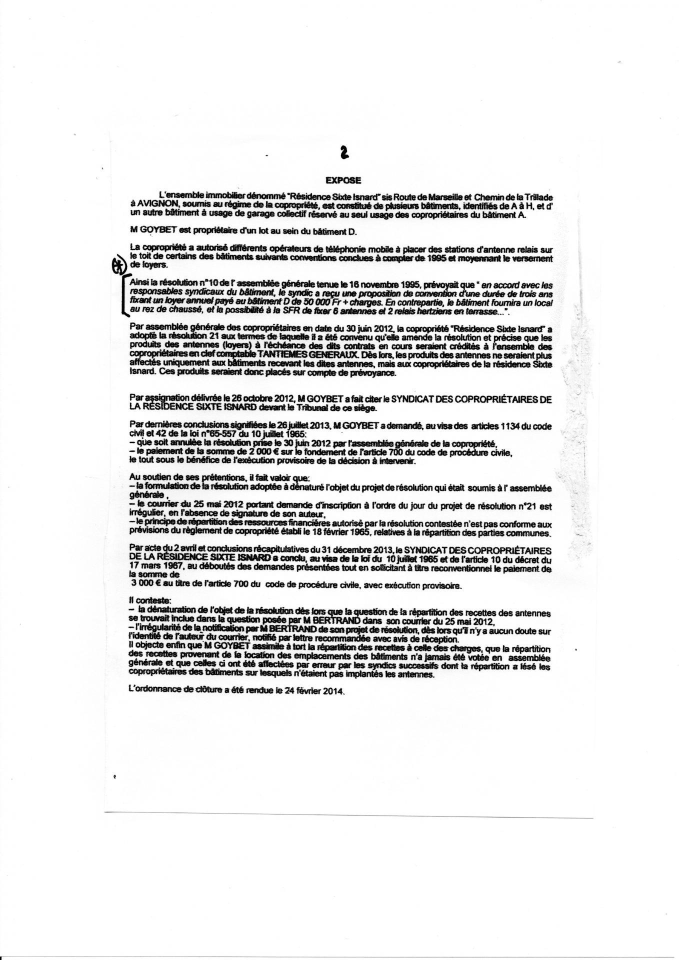 Jugement tribunal de grande instance d avignon du 2 09 2014  ( Page 2)