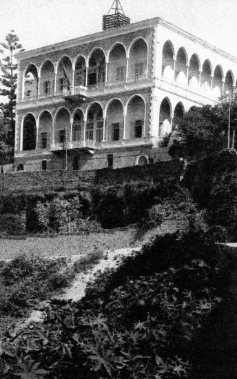 L' hotel de la 3em division à Beyrouth