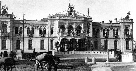 La gare du Hedjaz