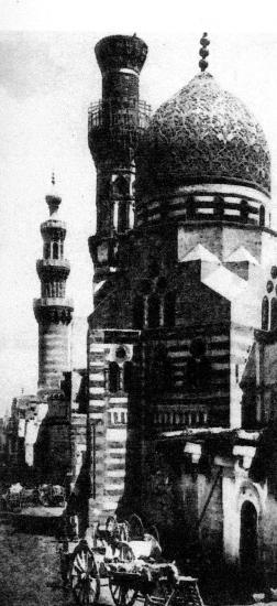 La mosquée bleue du Caire