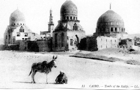 Le Caire tombes des califes