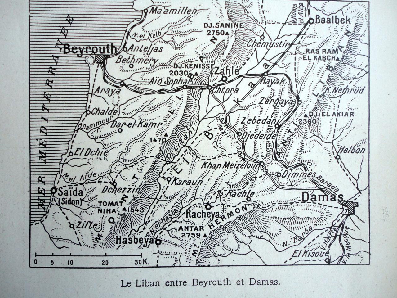 Le Liban entre Beyrouth et Damas