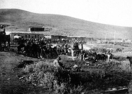 Le soir de la bataille de mayssaloun 24 juillet 1920