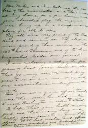 Letter of perry miles nov 33 second part