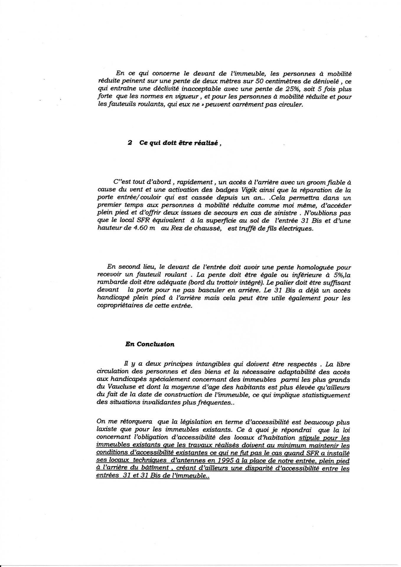 Lettre 21 01 2013 pour pente handicapée (2)