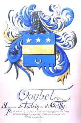 Blason Famille du Chevalier  Goybet