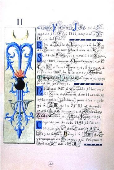 Naissance  de Mariano Francisco Julio Goybet 1861