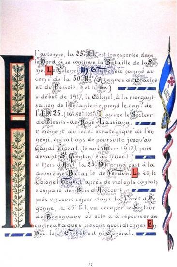 Bataille de Verdun . Livre de famille de Mariano GOYBET