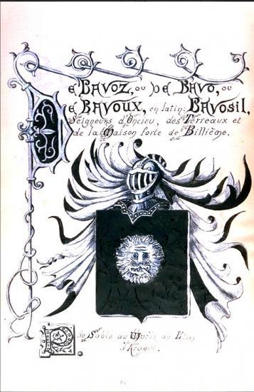 Famille De Bavoz