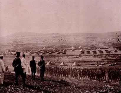 veille de la bataille de Meyzeloun